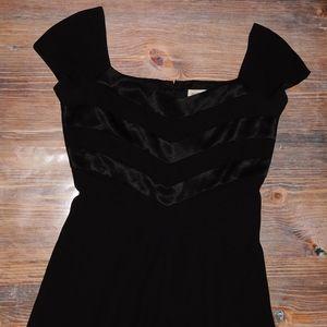 Ann Taylor black dress size 12